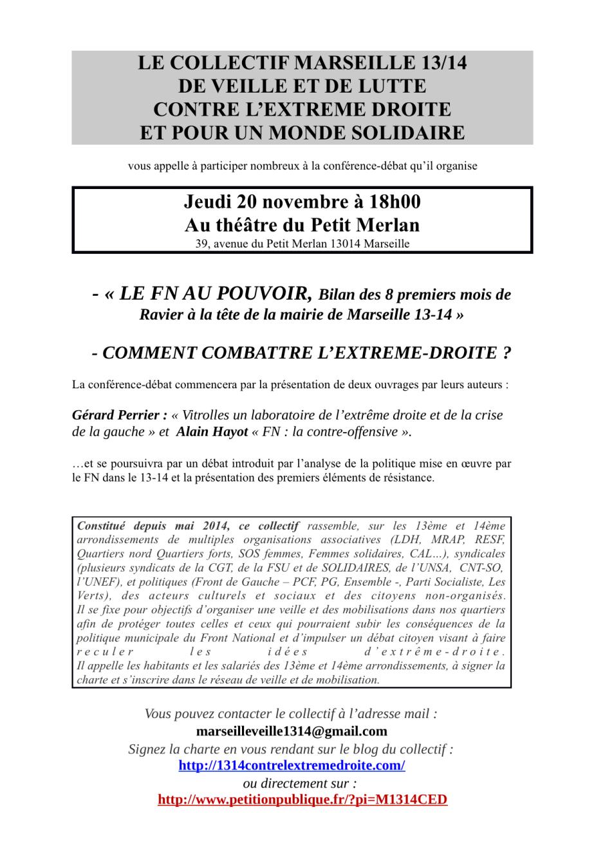 tract d'appel à la conférence-débat nov 2014